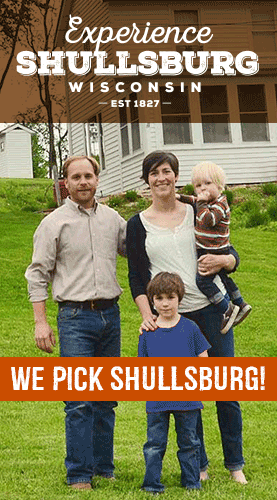 Experience Shullsburg Ad